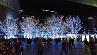 博多駅 クリスマスイルミネーション